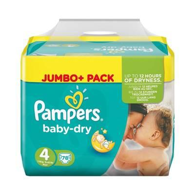 pampers baby dry 4 monatsbox