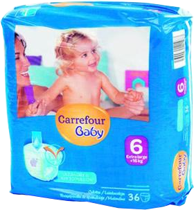 Carrefour baby 6 aanbieding standaard pak - Promo couche pampers carrefour ...
