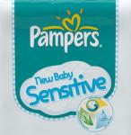 Pampers New Baby Sensitive logo