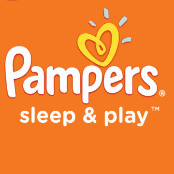Pampers Sleep and Play logo